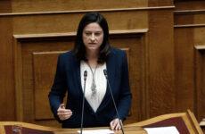 Οι προγραμματικές δηλώσεις της Υπουργού Παιδείας και Θρησκευμάτων Νίκης Κεραμέως