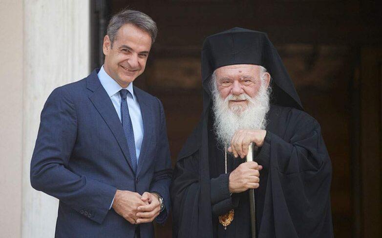 Μητσοτάκης – Ιερώνυμος: Ο διάλογος Κράτους – Εκκλησίας ξεκινά από την αρχή για όλα τα ζητήματα