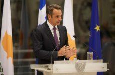 Κυρ. Μητσοτάκης: Αδιαπραγμάτευτος στόχος της ελληνικής εξωτερικής πολιτικής η επίλυση του Κυπριακού