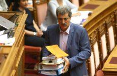 Αποχώρησε η Κ.Ο ΣΥΡΙΖΑ από τη συζήτηση για την άρση της ασυλίας Πολάκη