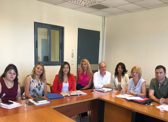 Συνάντηση της Υφυπουργού Παιδείας και Θρησκευμάτων Σοφίας Ζαχαράκη με την ΠΟΣΕΕΠΕΑ
