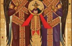 Υποδοχή της ιερής Εικόνας των Αρχαγγέλων Μιχαήλ και Γαβριήλ στην Μονή Ταξιαρχών