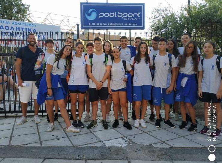 Νέα μετάλλια κι ατομικά ρεκόρ για την κολύμβηση της Νίκης Βόλου στη Θεσσαλονίκη