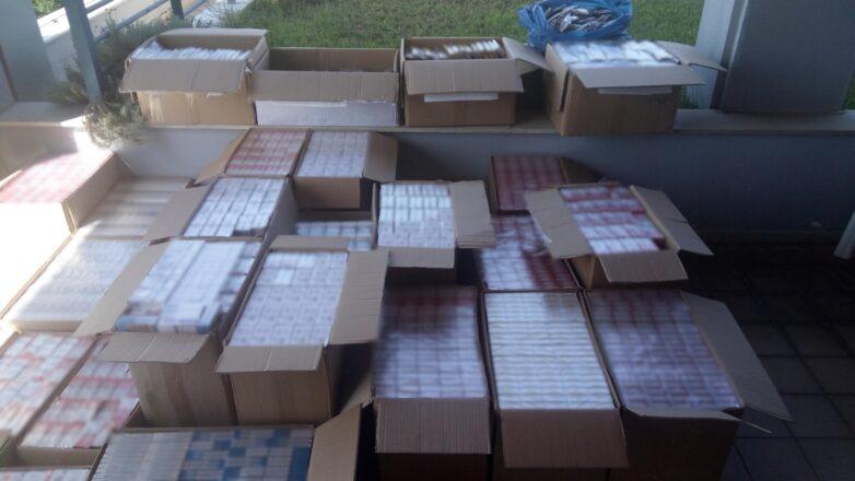 Αποθήκη με χιλιάδες λαθραία καπνικά προϊόντα εντόπισε η ΕΛ.ΑΣ. στην Κηφισιά