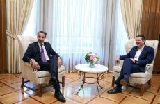Στις 7.00 το απόγευμα η σύνθεση της νέας κυβέρνησης- Στο Μέγαρο Μαξίμου ο Κυριάκος Μητσοτάκης