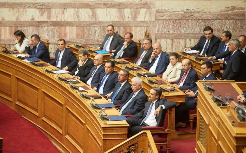 Ένταση στη Βουλή μεταξύ κυβέρνησης -ΣΥΡΙΖΑ