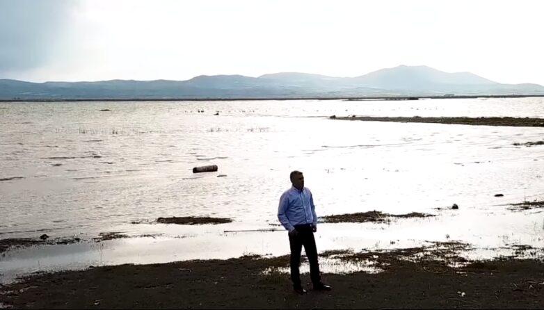 Νέα έργα στη λίμνη Κάρλα από την Περιφέρεια Θεσσαλίας προϋπολογισμού 2 εκατ. ευρώ