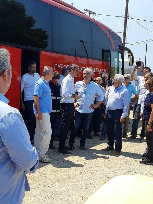Συμμετοχή συντονιστή Αποκεντρωμένης Διοίκησης Θεσσαλίας – Στερεάς Ελλάδας στην αντιμετώπιση της πυρκαγιάς στην Εύβοια