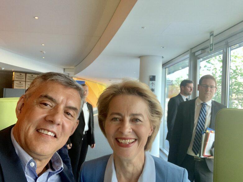 Συγχαρητήρια επιστολή προέδρου ΕΝΠΕ Κ. Αγοραστού  στη νέα πρόεδρο της Ευρωπαϊκής Επιτροπής Ούρσουλα φον ντερ Λάινεν