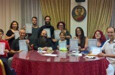 Επιτυχές το σεμινάριο καλλιγραφίας της Σχολής Αγιογραφίας «Διά χειρός»