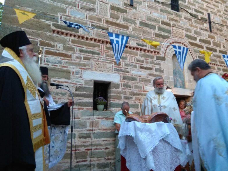 Λαμπρή η πανήγυρη του Αγίου Λαυρεντίου στο Πήλιο