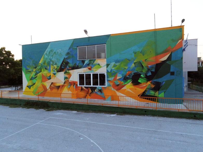 """Με δύο τοιχογραφίες ο  τρίτος κύκλος του """"CityCall"""" στο Βόλο"""