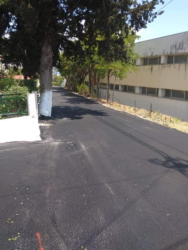 Ολοκληρώθηκε το έργο ασφαλτόστρωσης στην περιοχή του ΕΠΑΛ Βελεστίνου