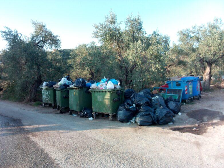 Σκουπιδοκατάσταση στην Άφησσο