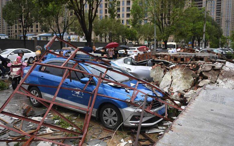 Ο τυφώνας Λέκιμα «χτυπάει» την Κίνα