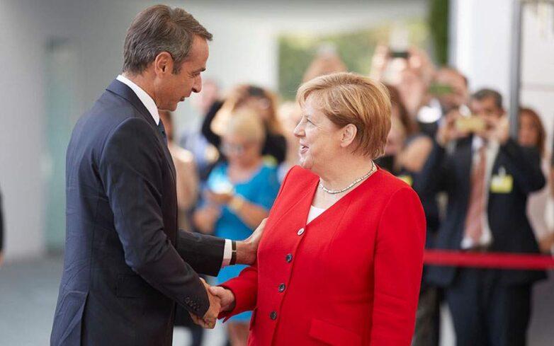 Συμφωνία Μέρκελ – Μητσοτάκη για δεκαετές «πράσινο επενδυτικό σχέδιο»