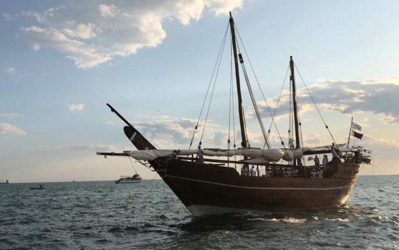 Στον Πειραιά το παραδοσιακό ξύλινο σκάφος – μουσείο του Κατάρ
