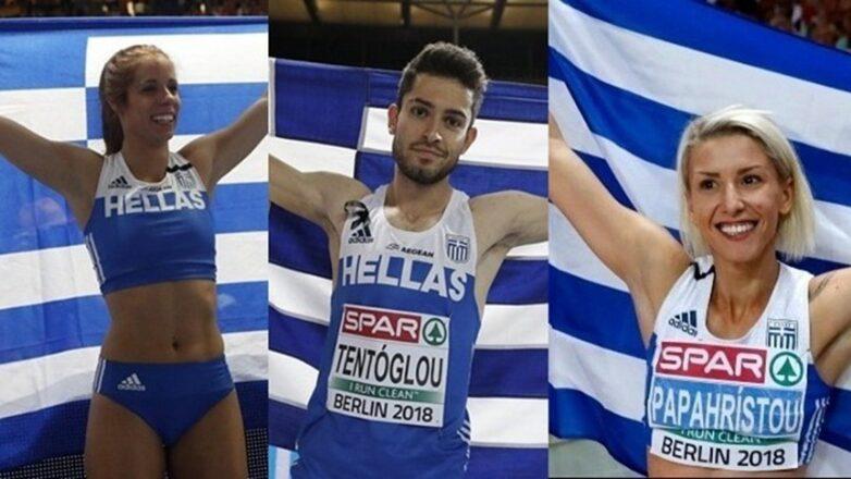 Ελληνικές πρωτιές στον Ευρωπαϊκό στίβο
