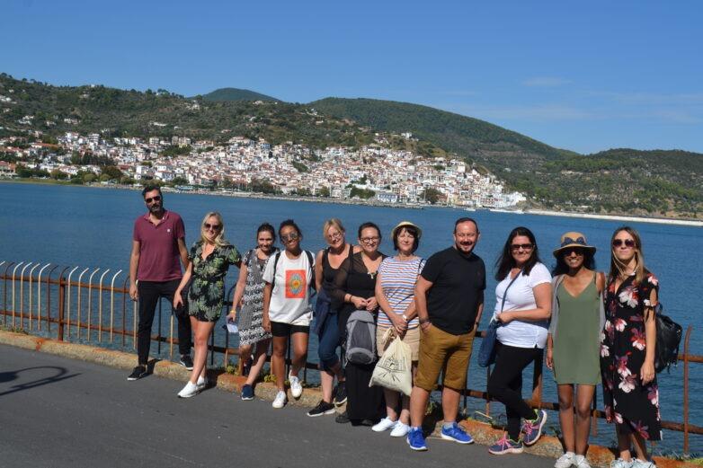 Άγγλοι τουριστικοί πράκτορες στη Σκόπελο