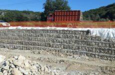 Εργασίες αποκατάστασης βλαβών στο επαρχιακό οδικό δίκτυο Κερασιά-Κανάλια