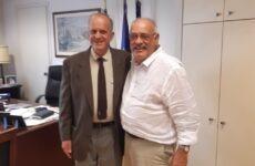 Σημαντικές επαφές και συζητήσεις του δημάρχου Σκοπέλου Σταμάτη Περίσση στην Αθήνα