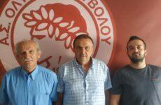 Επιστημονικός συνεργάτης στην Κ17 του Ολυμπιακού Βόλου ο dr. Ζήσης Παπανικολάου