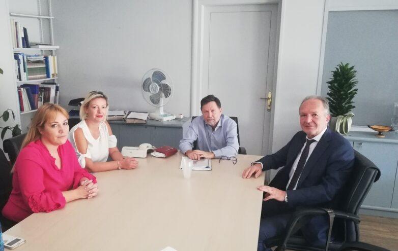 Συνάντηση ΤΕΕ Μαγνησίας με υφυπουργό Οικονόμου για τους οικισμούς στο Πήλιο