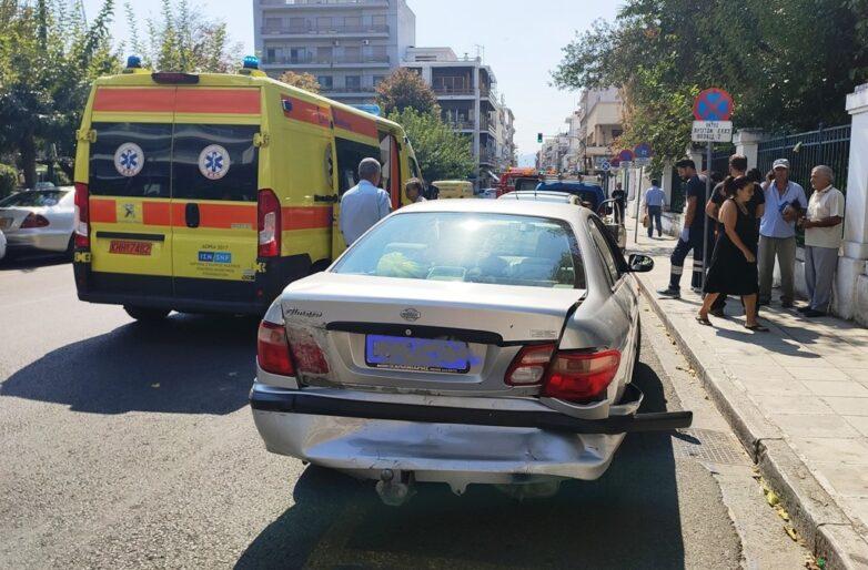 Τροχαίο με καραμπόλατεσσάρων αυτοκινήτων στην Ανθ. Γαζή