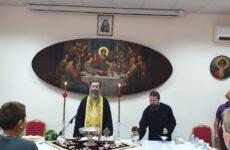 Αγιασμός στην Σχολή Βυζαντινής Μουσικής