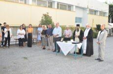 Στον αγιασμό σχολείων του Δήμου ο δήμαρχος Ρήγα Φεραίου Δημήτρης Νασίκας