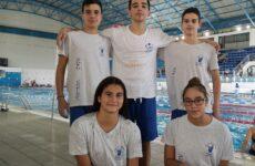 Πέντε αθλητές της Νίκης Βόλου στο πρόγραμμα επίλεκτων κολυμβητών της ΚΟΕ