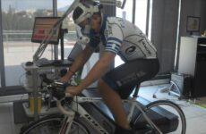 Σε εργομετρικά τεστ αθλητές της ποδηλασίας της Νίκης Βόλου
