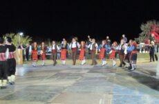Στο 9ο Πανελλήνιο Αντάμωμα Ανατολικορωμυλιωτών- Βορειοθρακιωτών τo Χορευτικό τμήμα του Φιλοπρόοδου Συλλόγου