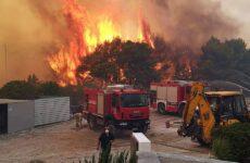 Καλύτερη η εικόνα στην πυρκαγιά στη Ζάκυνθο – Σε ύφεση στο Λουτράκι