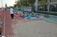 Επικεφαλής του προπονητικού team του τμήματος κολύμβησης της Νίκης Βόλου ο Στάθης Μέμος