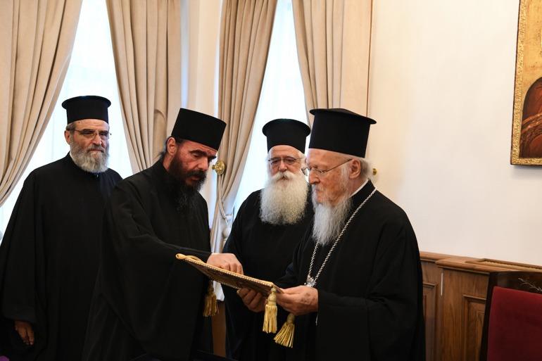 Επίσκεψη ομίλου προσκυνητών από την Μ. Φθιώτιδος στο Οικουμενικό Πατριαρχείο