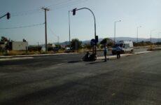 Σύγκρουση αυτοκινήτων στον περιφερειακό με δύο σοβαρά τραυματίες