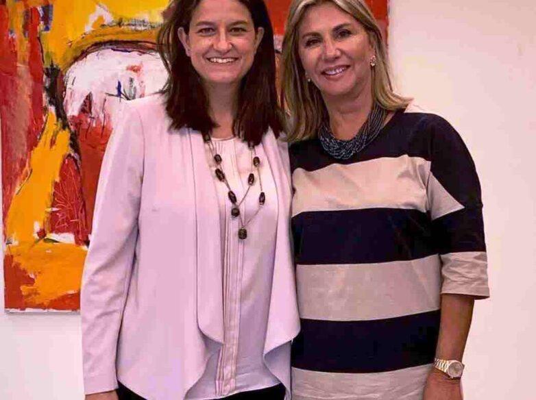 Συνάντηση Ζέττας Μ. Μακρή με την υπουργό Παιδείας και Θρησκευμάτων Νίκη Κεραμέως