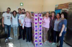 Προϊόντα ετήσιας ατομικής υγιεινής σε ανήλικα κορίτσια διένειμε ο Δήμος Βόλου