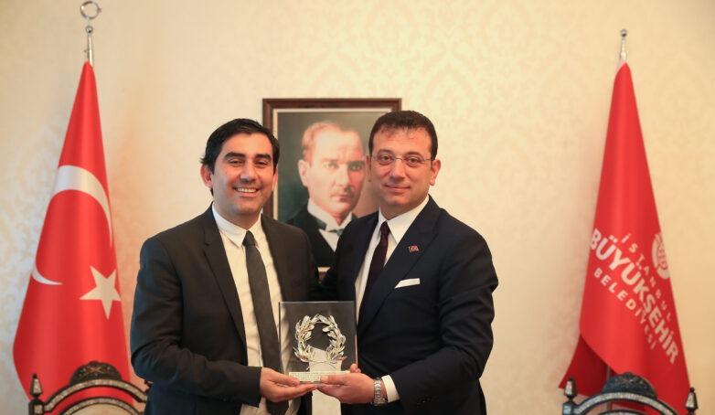 Με τον δήμαρχο Κωνσταντινούπολης συναντήθηκε ο δήμαρχος Σκιάθου