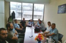Συνάντηση υπευθύνων της Δημοτικής Αστυνομίας Βόλου και Αστυνομικού Διευθυντή Μαγνησίας
