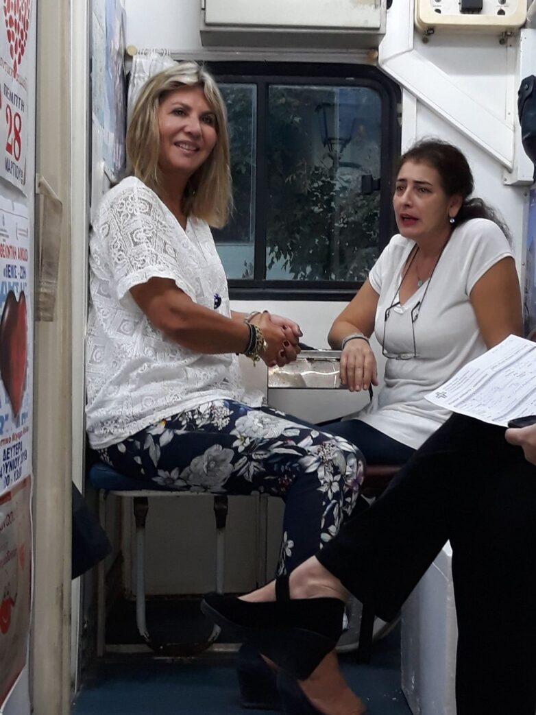 Μεγάλη η ανταπόκριση στην εθελοντική αιμοδοσία της Ζέττας Μακρή