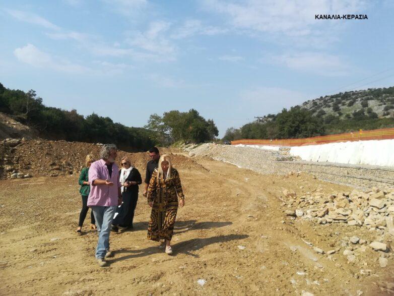 Η αντιπεριφερειάρχης ΠΕΜΣ σε έργα που εκτελούνται στη Μαγνησία