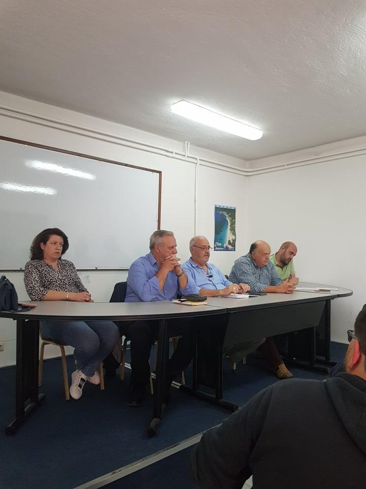 Εβδομαδιαίες επαφές και συναντήσεις του δημάρχου Σκοπέλου