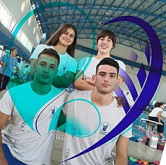 Τέσσερις κολυμβητές της Νίκης Βόλου στην προεθνική ομάδα