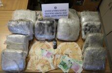 Συνελήφθη 43χρονος στο Βόλο με μεγάλη ποσότητα κάνναβης