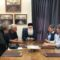 Συνάντηση μητροπολίτη με τους υπευθύνους του ΚΕΘΕΑ Βόλου