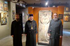 Στο Βυζαντινό Μουσείο Μακρινίτσας ο μητροπολίτης Ταλλίνης Στέφανος