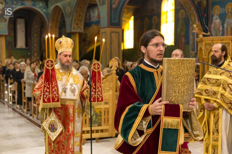 Πάνδημος ο εορτασμός του Αγίου Δημητρίου στον Βόλο