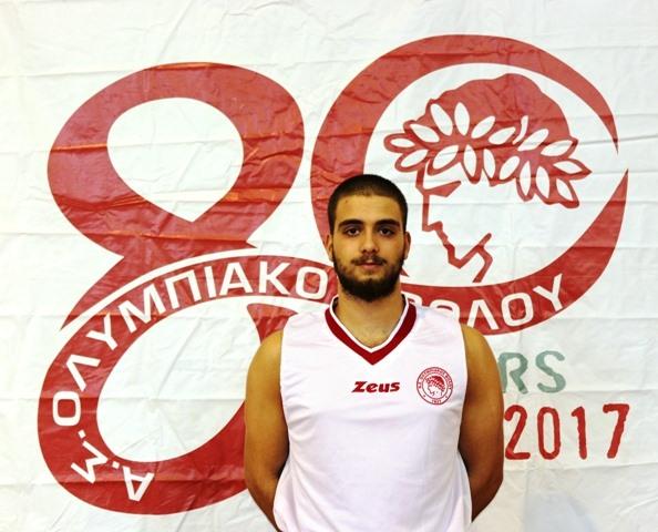 Επέστρεψε υγιής στην ανδρική ομάδα καλαθοσφαίρισης του Ολυμπιακού ο Θεοφάνης Αγγελοκωστόπουλος